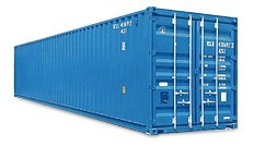 40 ft high cube dry container